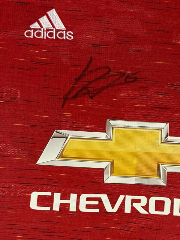 fernandes 20/21 autograph close up