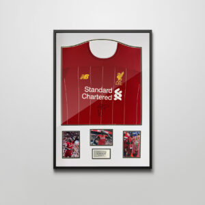 Authentically signed Mane Liverpool Shirt