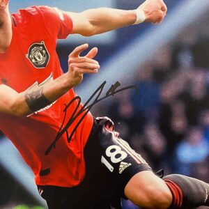 authentically signed bruno-fernandes autograph up close