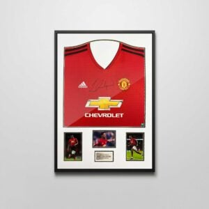 authentically signed rashford 2019 shirt