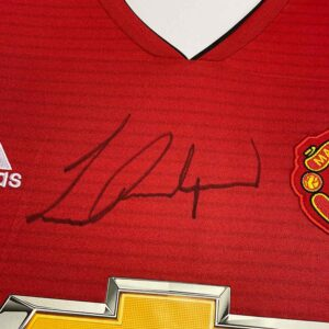 authentically signed rashford 2019 up close