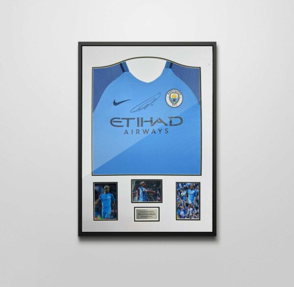 kompany signed shirt 16-17