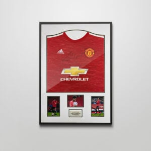 Signed Marcus Rashford Shirt