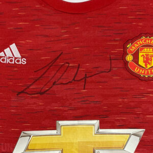 rashford shirt up close