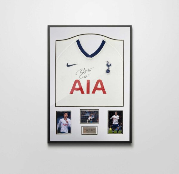 authentically signed dele alli spurs shirt