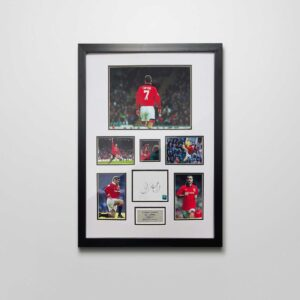 authentically signed eric cantona autograph