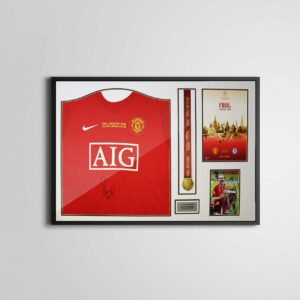 authentically signed paul scholes autograph 2008