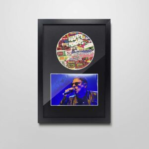 authentically signed shaun-ryder autograph frame
