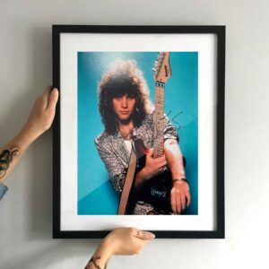 authentically signed jon bon jovi photo