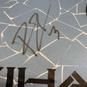 authentically signed ruban dias autograph up close