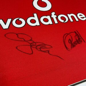 authentically-signed-beckham-and-cantona-signed-shirt-up-close